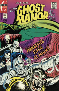 Cover Thumbnail for Ghost Manor (Charlton, 1971 series) #7