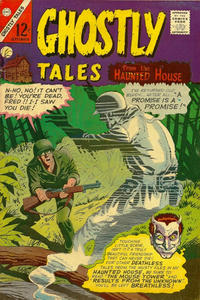 Cover Thumbnail for Ghostly Tales (Charlton, 1966 series) #57