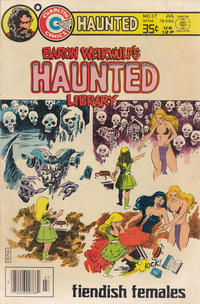 Cover Thumbnail for Haunted (Charlton, 1971 series) #37