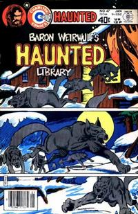 Cover Thumbnail for Haunted (Charlton, 1971 series) #47