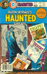 Cover Thumbnail for Haunted (Charlton, 1971 series) #49