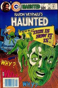 Cover Thumbnail for Haunted (Charlton, 1971 series) #69