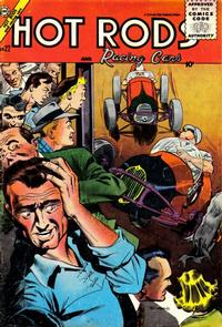Cover Thumbnail for Hot Rods and Racing Cars (Charlton, 1951 series) #22