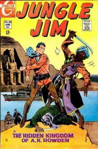 Cover Thumbnail for Jungle Jim (Charlton, 1969 series) #24