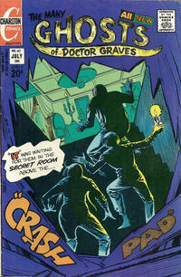 Cover Thumbnail for The Many Ghosts of Dr. Graves (Charlton, 1967 series) #40