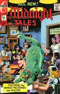 Cover Thumbnail for Midnight Tales (Charlton, 1972 series) #2