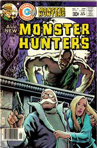 Cover Thumbnail for Monster Hunters (Charlton, 1975 series) #9