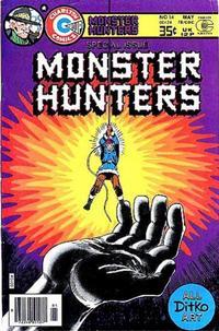 Cover Thumbnail for Monster Hunters (Charlton, 1975 series) #14