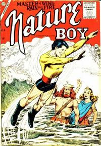 Cover Thumbnail for Nature Boy (Charlton, 1956 series) #4