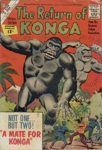 Cover Thumbnail for The Return of Konga (Charlton, 1962 series)
