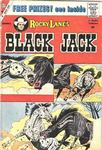 Cover Thumbnail for Rocky Lane's Black Jack (Charlton, 1957 series) #30