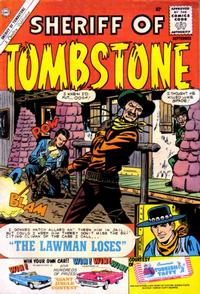 Cover Thumbnail for Sheriff of Tombstone (Charlton, 1958 series) #11