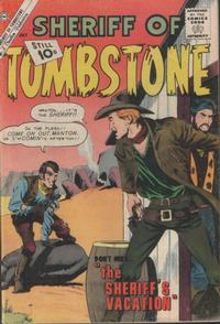 Cover Thumbnail for Sheriff of Tombstone (Charlton, 1958 series) #16