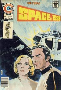 Cover Thumbnail for Space: 1999 [comic] (Charlton, 1975 series) #1