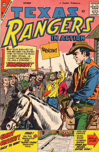 Cover Thumbnail for Texas Rangers in Action (Charlton, 1956 series) #18