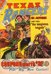 Cover Thumbnail for Texas Rangers in Action (Charlton, 1956 series) #27