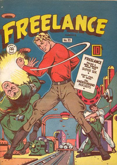Cover for Freelance Comics (Anglo-American Publishing Company Limited, 1941 series) #33