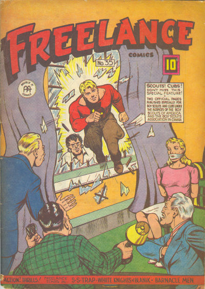 Cover for Freelance Comics (Anglo-American Publishing Company Limited, 1941 series) #35