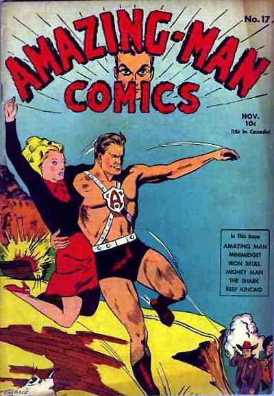 Cover for Amazing Man Comics (Centaur, 1939 series) #17