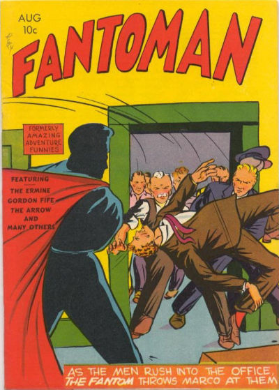 Cover for Fantoman (Centaur, 1940 series) #2