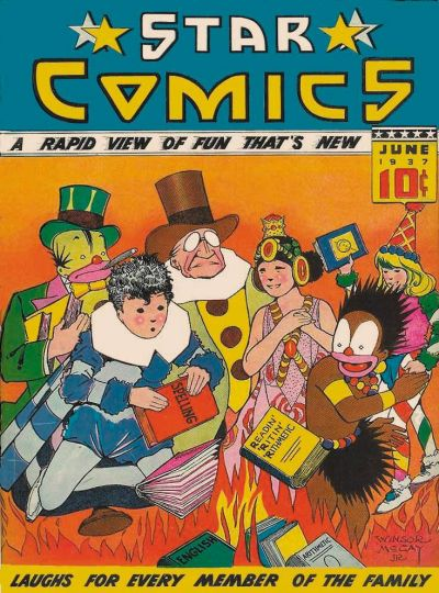 Cover for Star Comics (Chesler / Dynamic, 1937 series) #4
