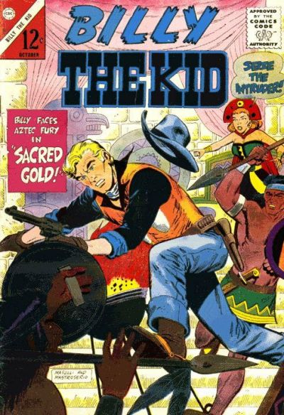 Cover for Billy the Kid (Charlton, 1957 series) #52