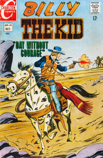 Cover for Billy the Kid (Charlton, 1957 series) #63