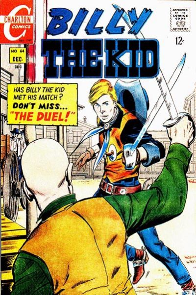 Cover for Billy the Kid (Charlton, 1957 series) #64