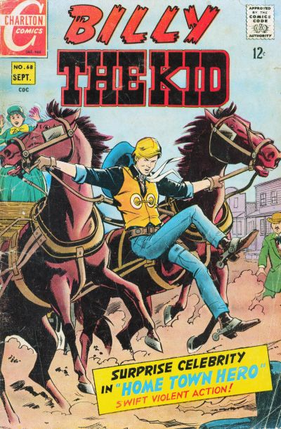 Cover for Billy the Kid (Charlton, 1957 series) #68