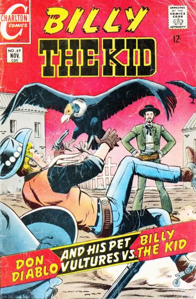 Cover for Billy the Kid (Charlton, 1957 series) #69