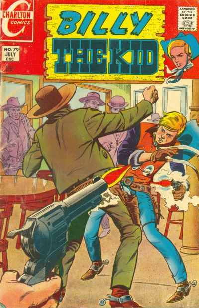 Cover for Billy the Kid (Charlton, 1957 series) #79