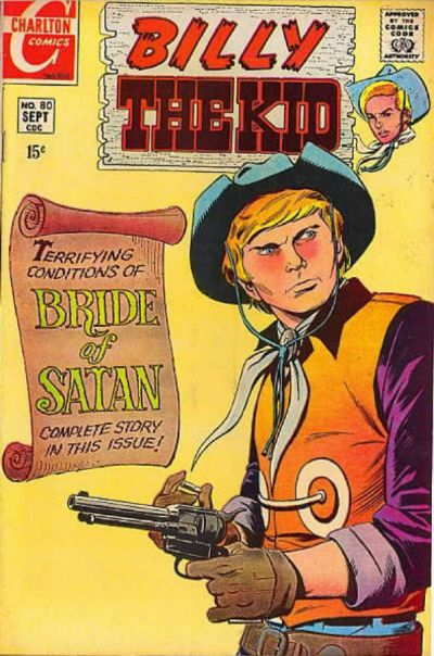 Cover for Billy the Kid (Charlton, 1957 series) #80