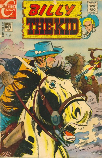 Cover for Billy the Kid (Charlton, 1957 series) #81