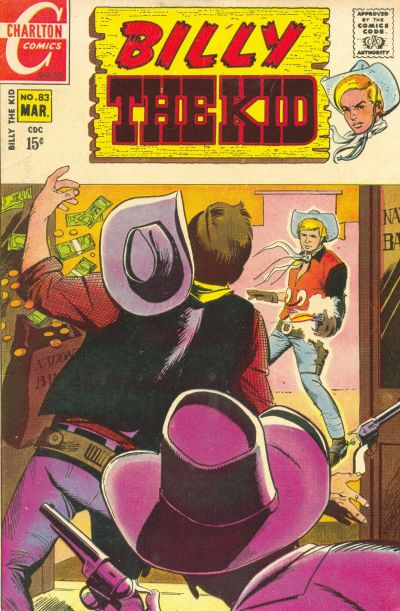 Cover for Billy the Kid (Charlton, 1957 series) #83