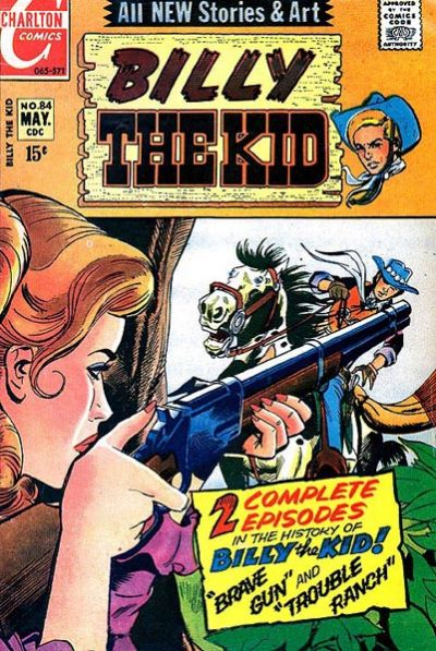 Cover for Billy the Kid (Charlton, 1957 series) #84