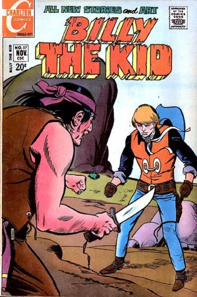 Cover for Billy the Kid (Charlton, 1957 series) #87