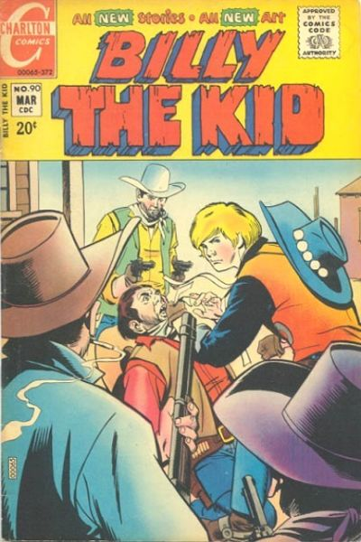 Cover for Billy the Kid (Charlton, 1957 series) #90