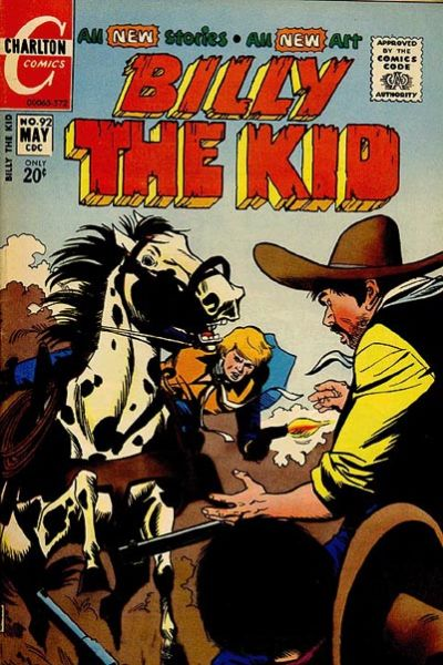 Cover for Billy the Kid (Charlton, 1957 series) #92