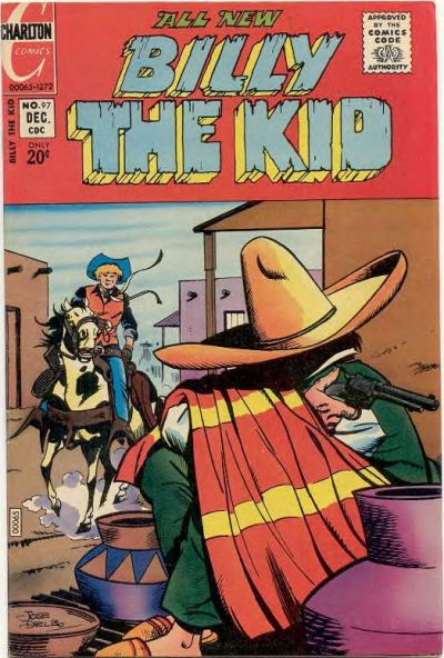 Cover for Billy the Kid (Charlton, 1957 series) #97
