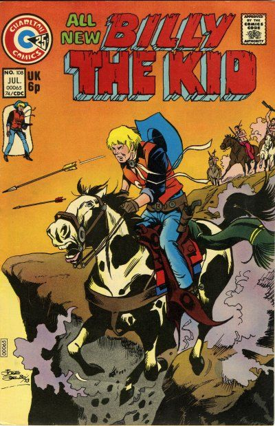 Cover for Billy the Kid (Charlton, 1957 series) #108