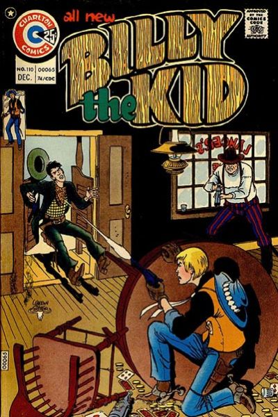 Cover for Billy the Kid (Charlton, 1957 series) #110