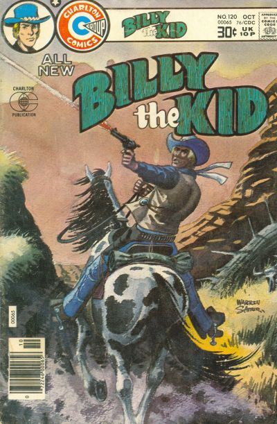 Cover for Billy the Kid (Charlton, 1957 series) #120