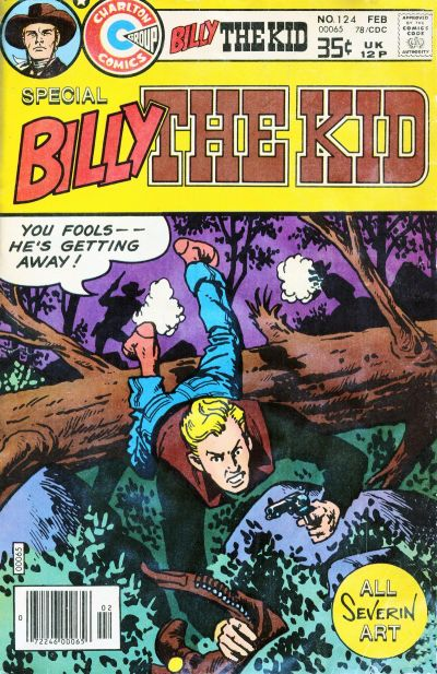 Cover for Billy the Kid (Charlton, 1957 series) #124