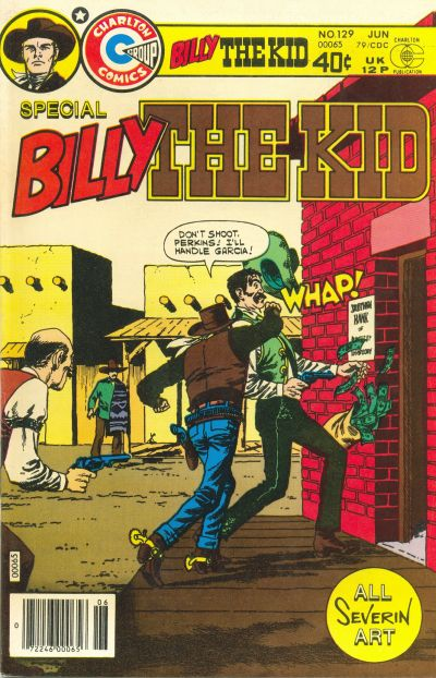Cover for Billy the Kid (Charlton, 1957 series) #129