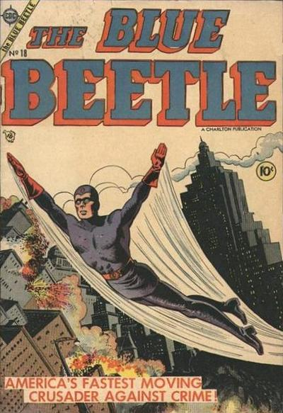 Cover for Blue Beetle (Charlton, 1955 series) #18