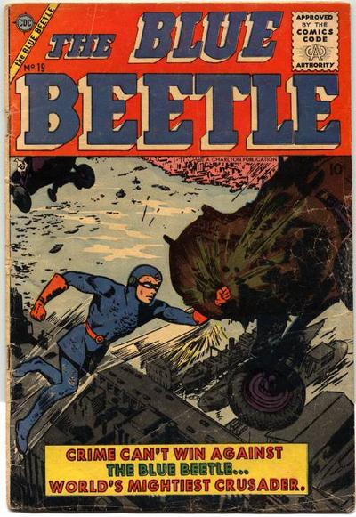 Cover for Blue Beetle (Charlton, 1955 series) #19