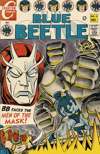 Cover for Blue Beetle (Charlton, 1967 series) #4