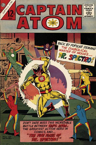 Cover for Captain Atom (Charlton, 1965 series) #81