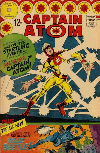 Cover for Captain Atom (Charlton, 1965 series) #83