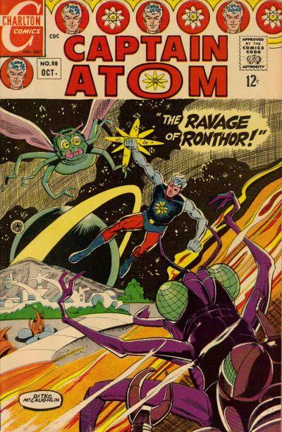 Cover for Captain Atom (Charlton, 1965 series) #88